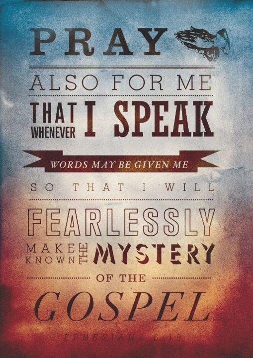 Ephesians 6.19