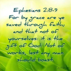 Ephesians2.8-9