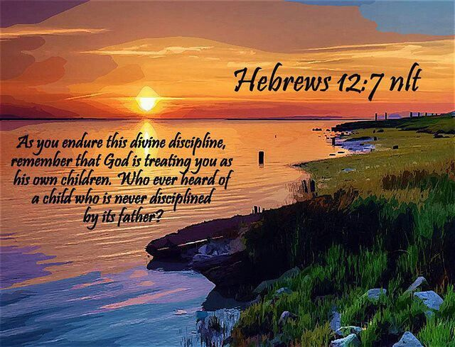 Hebrews 12.7