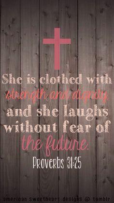 Proverbs 31.25