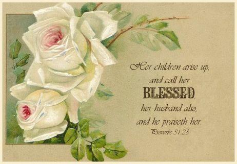 Proverbs 31.28