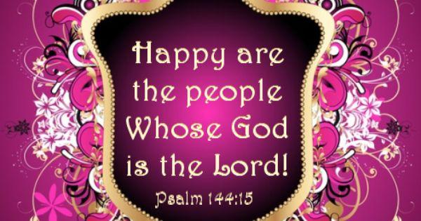 Psalm 144.15
