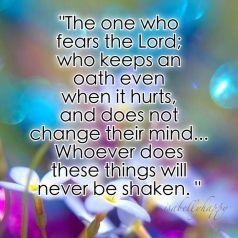 Psalm 15.4