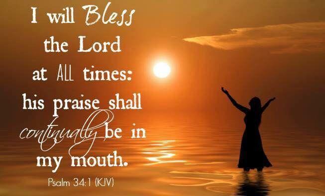 Psalm 34.1a