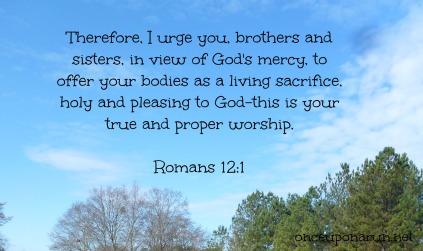 Romans 12.1