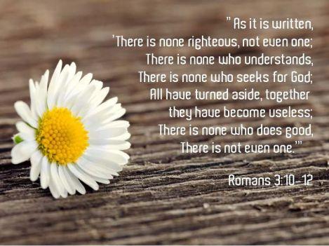 Romans 3.10-12