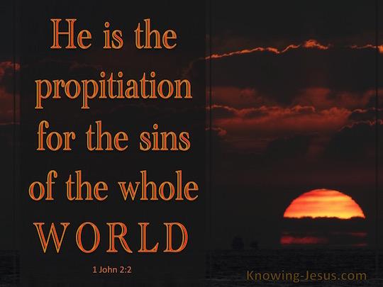 1 John 2.2a