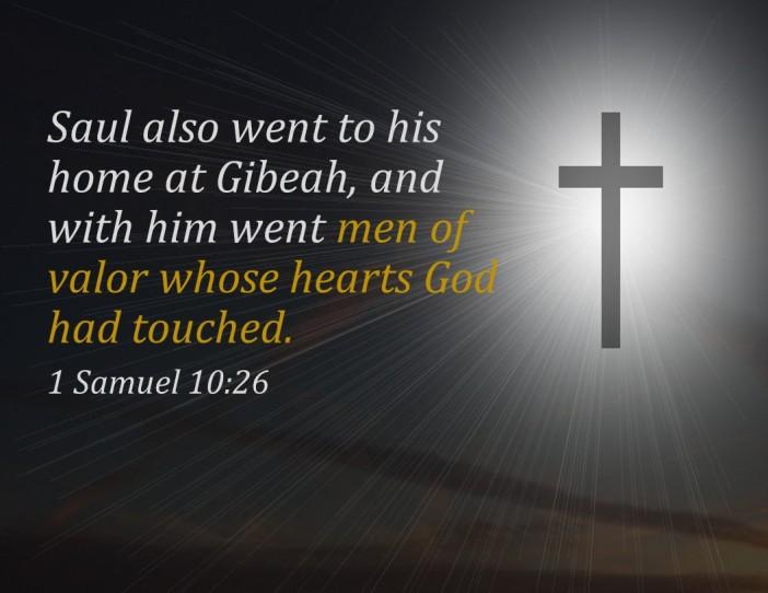 1 Samuel 10.26