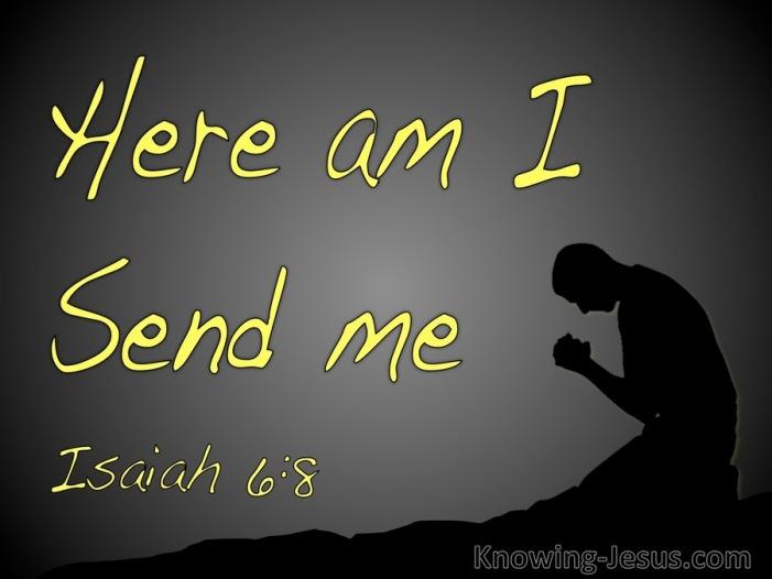 Isaiah 6.8
