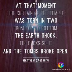 Matthew 27.51