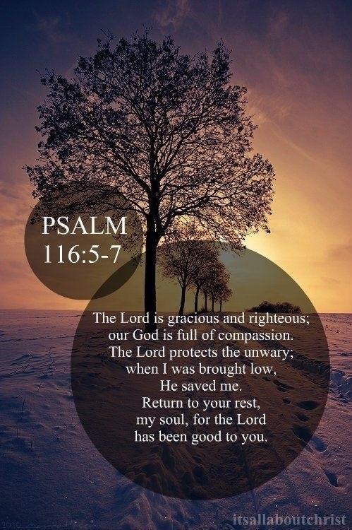 Psalm 116.3-5