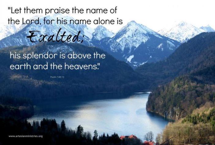 Psalm 148.13