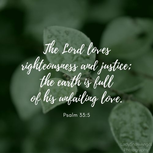 Psalm 33.5