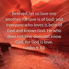 1 John 4.7-8