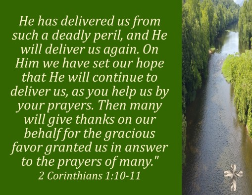 2 Corin 1.10-11