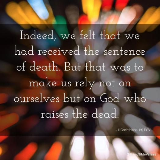 2 Corinthians 1.9