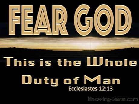 Ecclesiastes 12.13