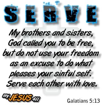 Galatians 5.13