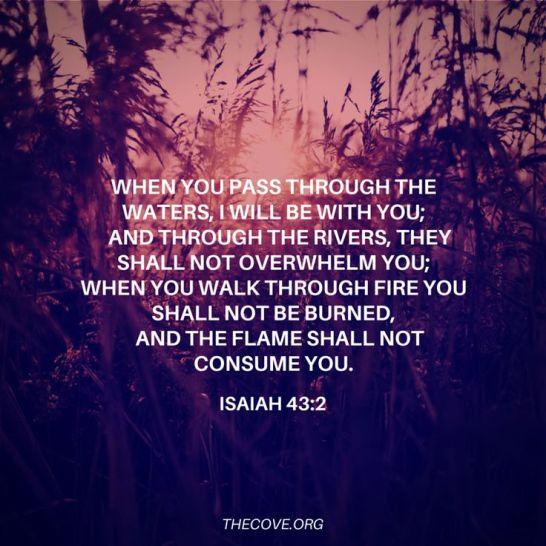 Isaiah 43.2