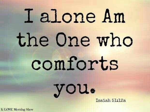 Isaiah 51.12a