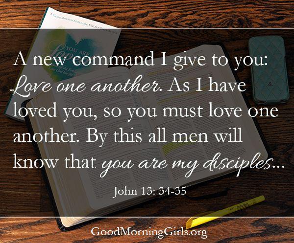 John 13.34-35