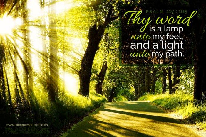 Psalm 119.105