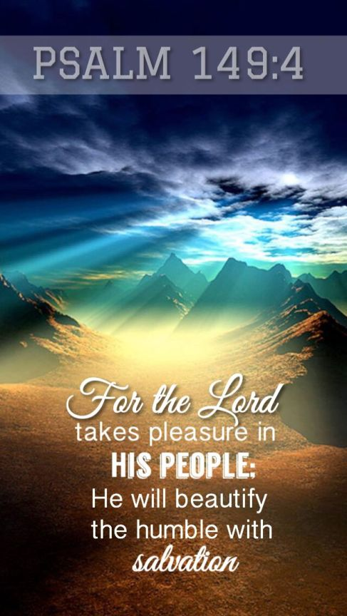 Psalm 149.4