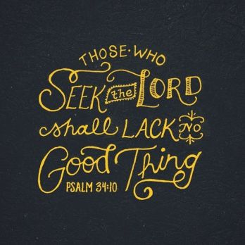 Psalm 34.10