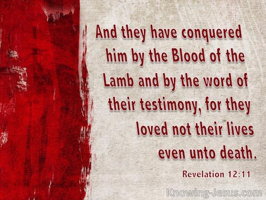 Revelation 12.11