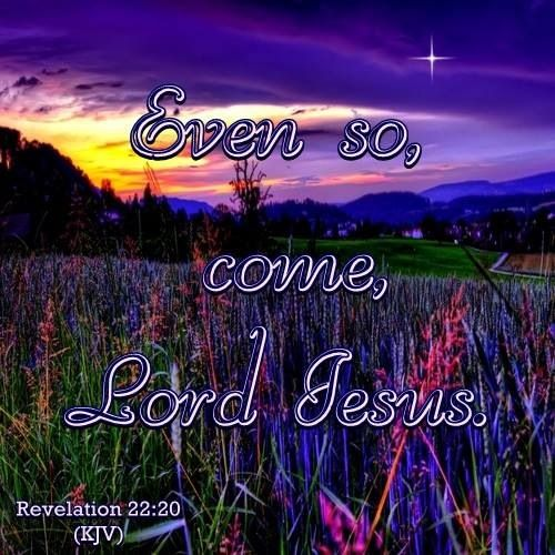 Revelation 22.20