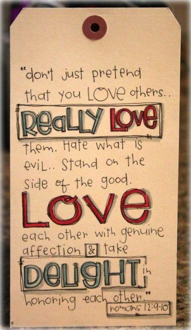 Romans 12.9-10