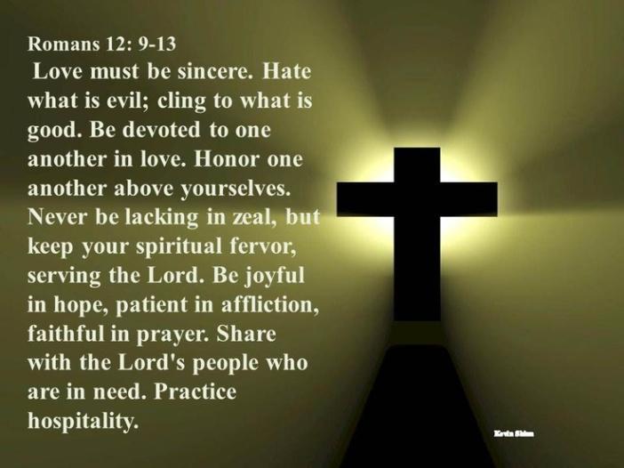 Romans 12.9-13