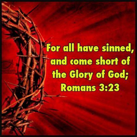 Romans 3.23