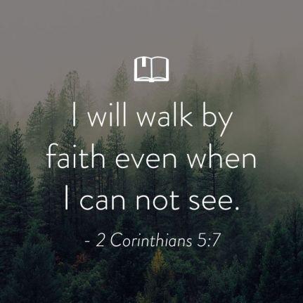 2 Corinthians 5.7