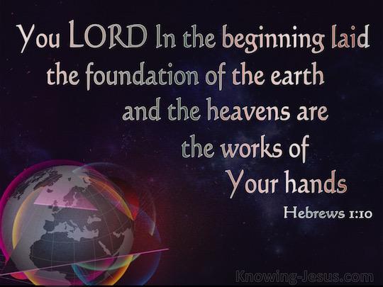 Hebrews-1.10