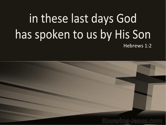 Hebrews 1.2