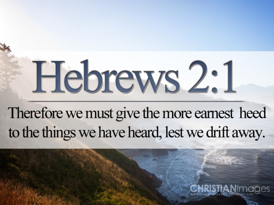 hebrews 2.1