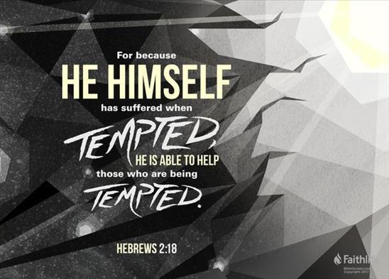 Hebrews 2.18