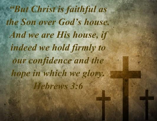 Hebrews 3.6