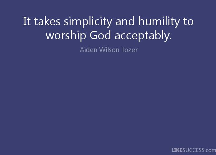 Humility 18