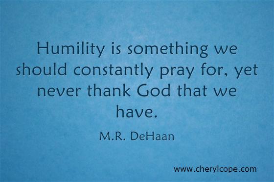 Humility 23