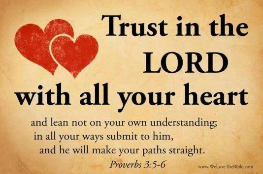 Proverbs 3.5-6