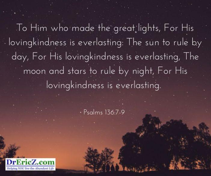 Psalm 136.7-9
