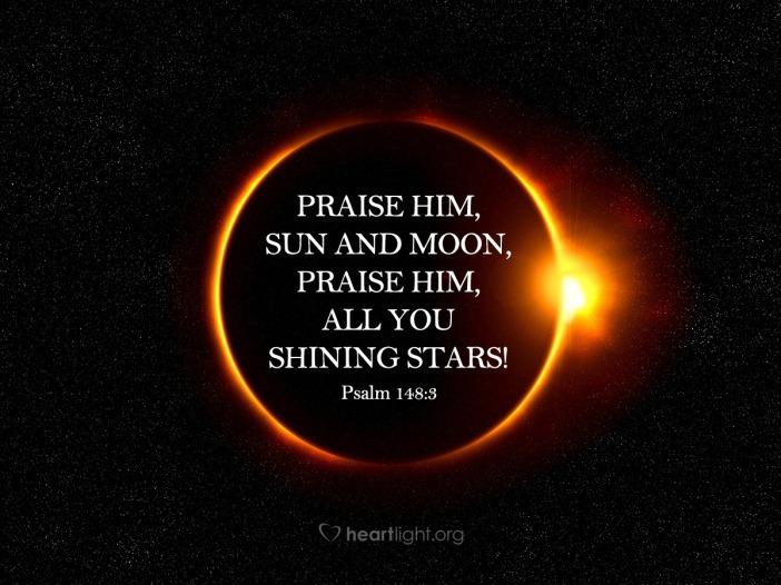 Psalm 148.3b