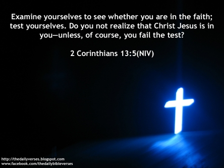 2 Corinthians 13.5