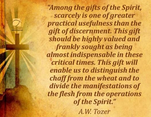 Discernment 1