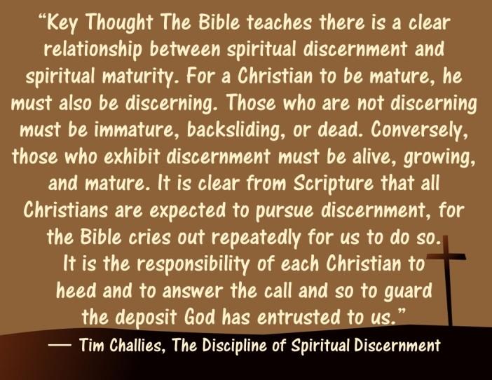 Discernment 14