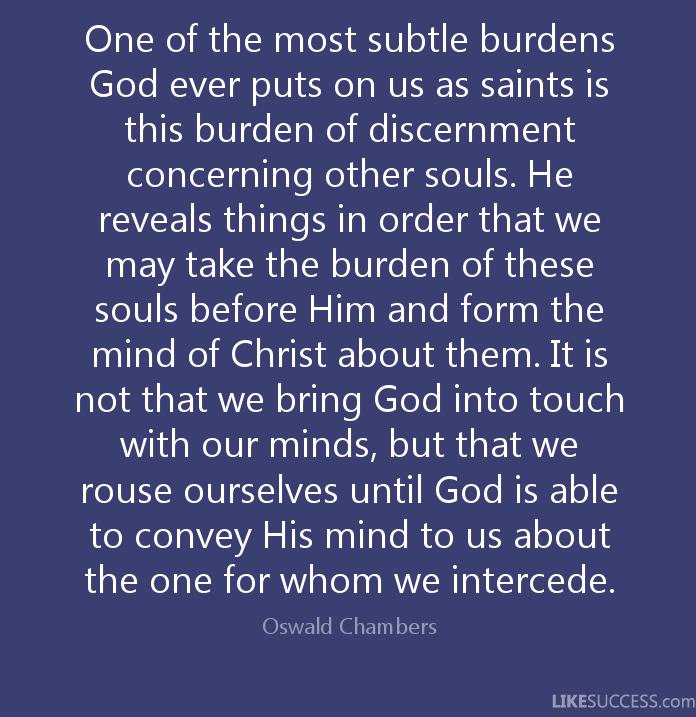 Discernment 6