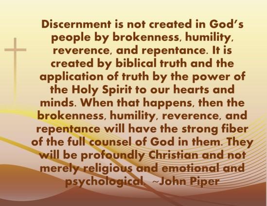 Discernment 9