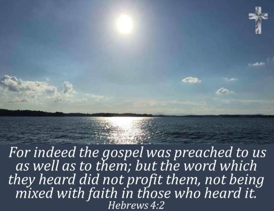 Hebrews 4.2